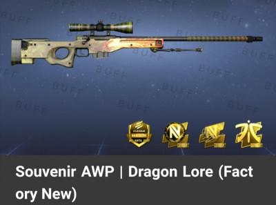 As-skins-mais-caras-do-CS-GO-AWP-Dragon-Lore-Souvenir